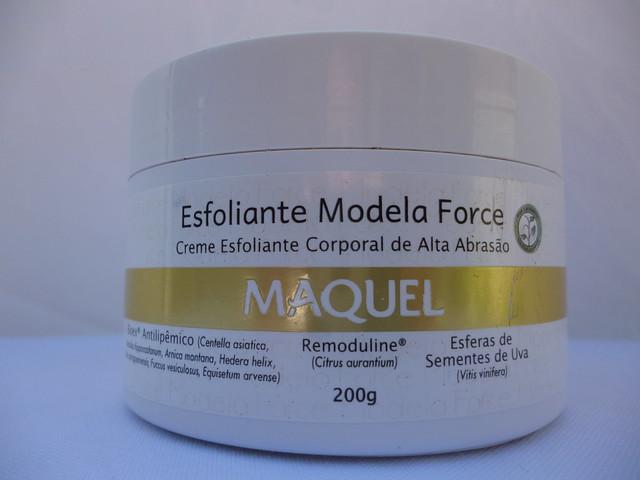 Testei: Esfoliante Modela Force Maquel