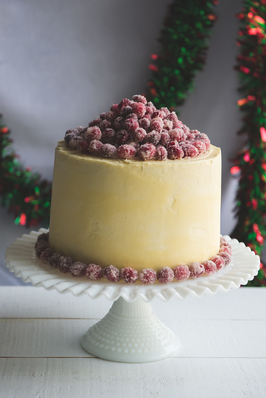 11217340773 b35fdba46c c Christmas White Chocolate Cranberry Layer Cake