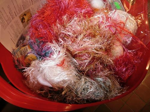 Eyelash yarn