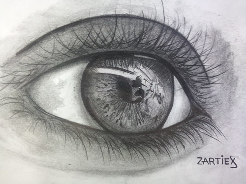 Dibujos a lápiz - ojos / eyes | Flickr - Photo Sharing!