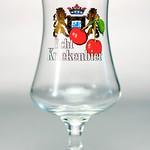 ベルギービール大好き!!【エヒテ・クリーケンビールの専用グラス】(管理人所有 )
