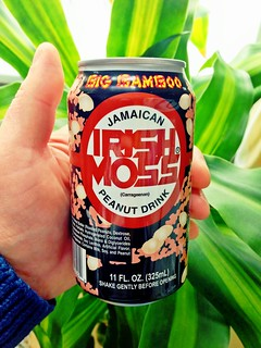 Just my usual Sunday morning can of Big Bamboo Jamaican Irish Moss (Carrageenan) Peanut Drink.