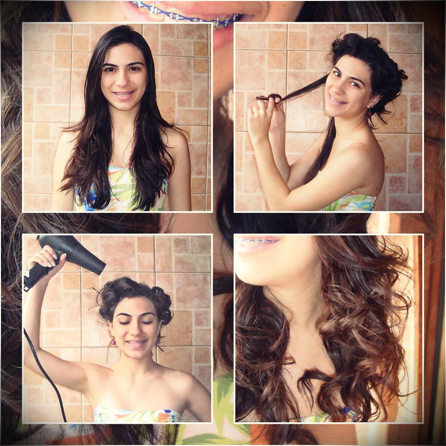 enrolando os cabelos cachos a moda antiga tutorial como fazer dedinho secando com secador ou naturalmente