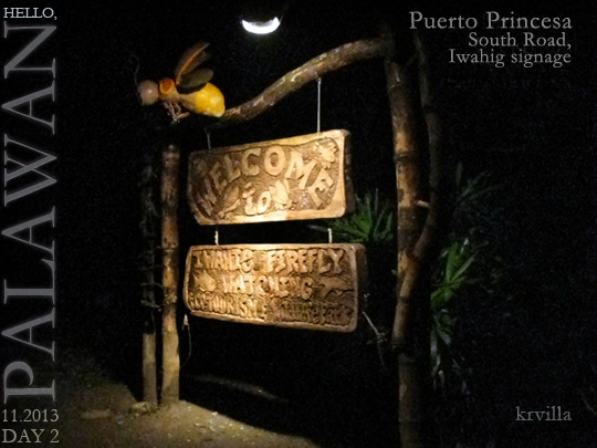 Iwahig Firefly-watching and Eco Park Entrance1