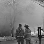 Fire on University and Harvey Urbana Illinois