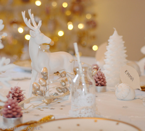 My enchanted forest Christmas dining table