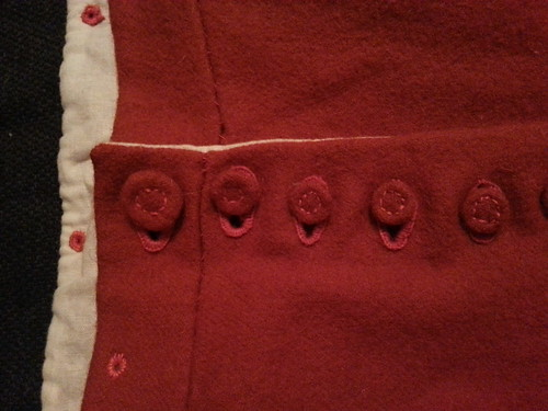 Red Buttons, Red Men's Outfit, from 1560's Italy, based heavily on Moroni portraits on MorganDonner.com