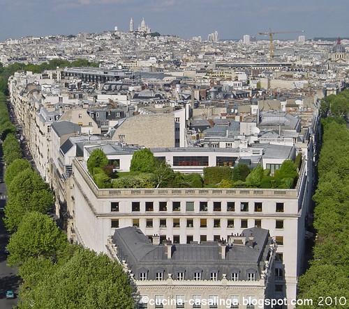 Arc de Triomphe - Blick nach Sacre Coeur