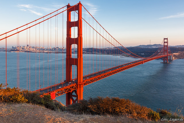 Golden Gate Bridge at Golden Hour