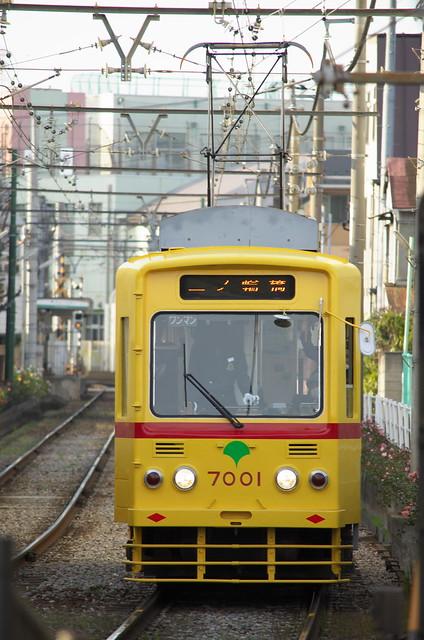 Tokyo Train Story 都電荒川線 2014年1月4日