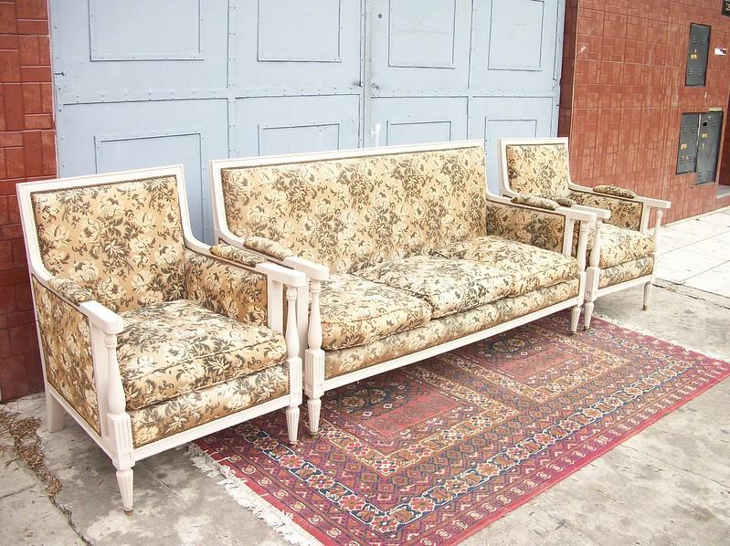 juego de sillones estilo ingles living sofa sala comedor
