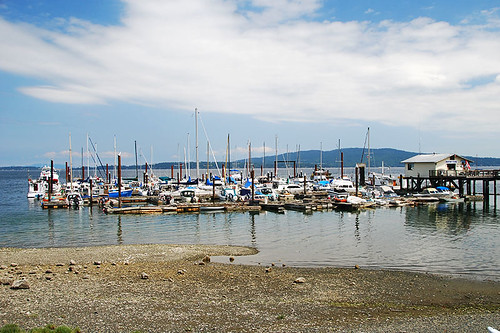 Mill Bay Marina, Mill Bay, Vancouver Island, British Columbia, Canada