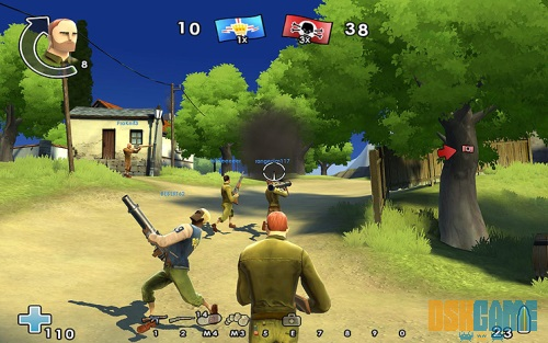 Battlefield Heroes campo de batalla