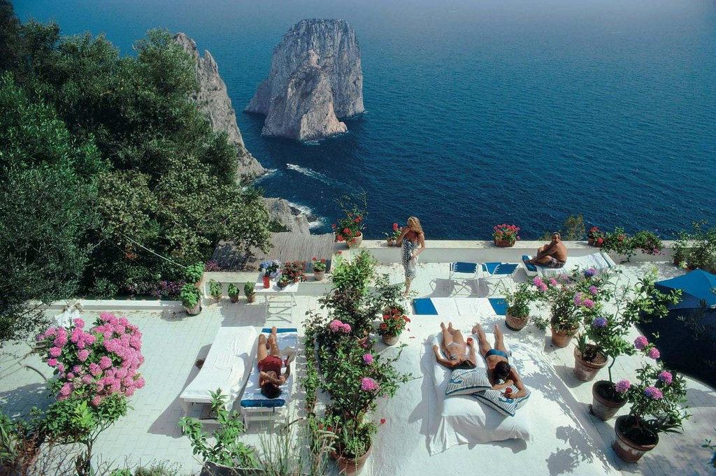 Photos By Slim Aarons  Everyday I Show