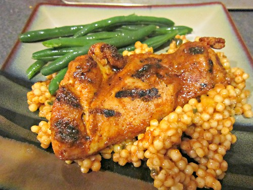 Moroccan Spiced Apricot Chicken & Couscous (3)