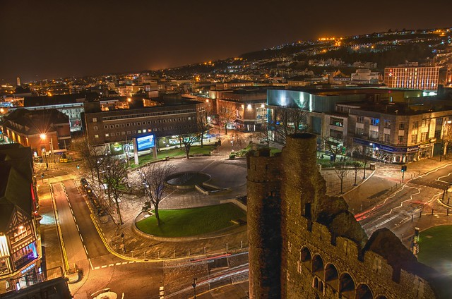 Castle Square Swansea