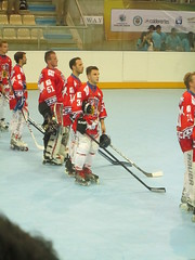 ball hockey(0.0), ice hockey(0.0), ice hockey position(0.0), stick and ball games(1.0), sports(1.0), roller in-line hockey(1.0), team sport(1.0), hockey(1.0), ball game(1.0), bandy(1.0), athlete(1.0),