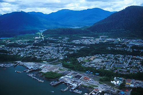 Prince Rupert, West Coast of Northern British Columbia, Canada