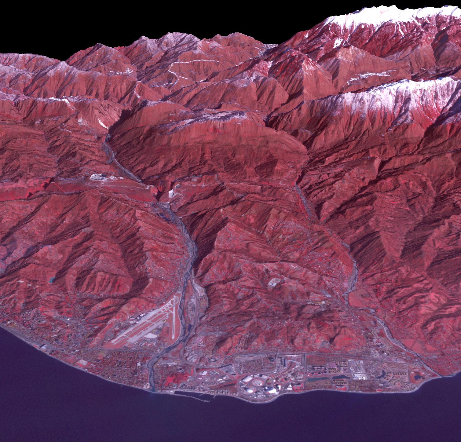 Sochi, Russia Winter Olympic Sites (Coastal Cluster)
