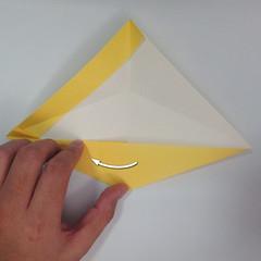สอนวิธีพับกระดาษเป็นรูปลูกสุนัขยืนสองขา แบบของพอล ฟราสโก้ (Down Boy Dog Origami) 036