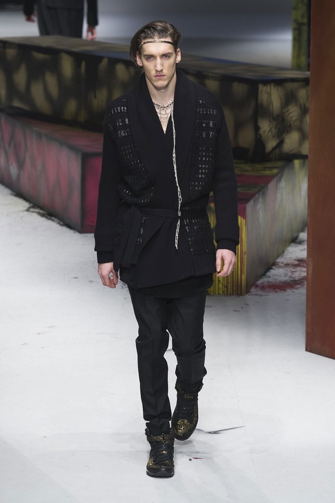 FW14 Milan Roberto Cavalli003_Vince Robitaille(fashionising.com)