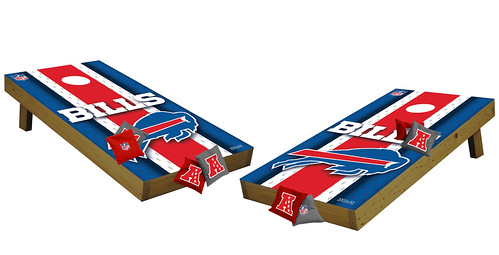 Buffalo Bills Premium Cornhole Boards