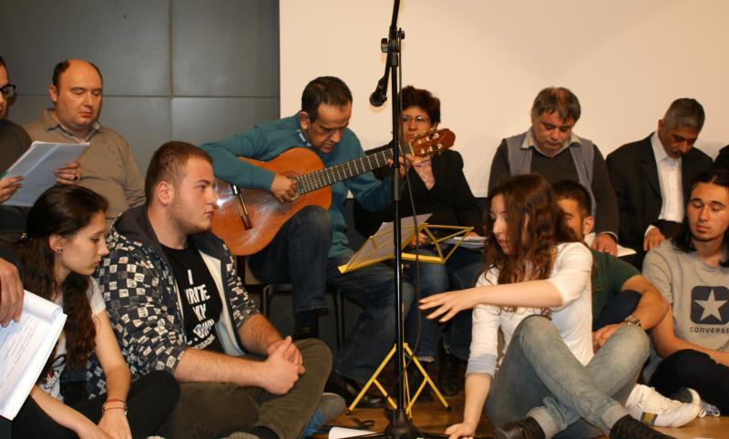 Şizofreni hastalarından müzikal tiyatro gösterimi
