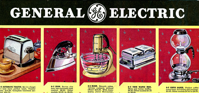 1938 GE Christmas Present Suggestions.