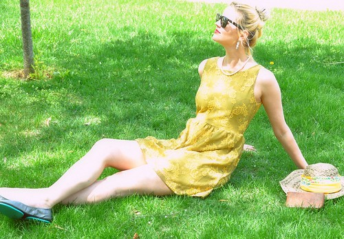 yellow dress soft