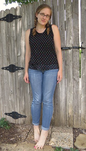 Seeing Spots Sleeveless Top - After