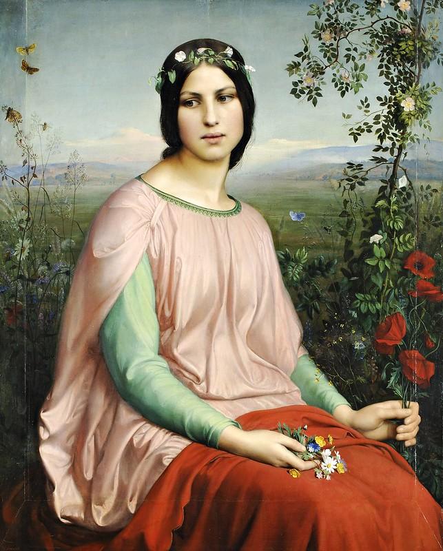 Louis Janmot - Fleur des champs (1845)