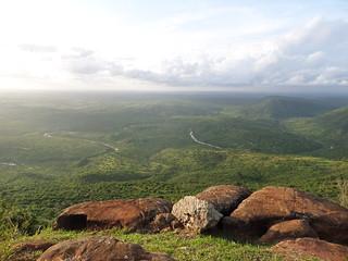 Grandioser Ausblick über die Shimba Hills