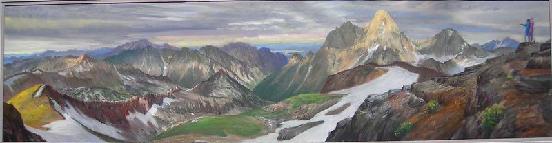 This is a pastel I did of the view many years ago.