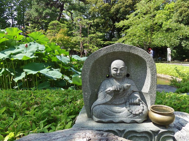 Small Buddha at Nishiarai Daishi temple
