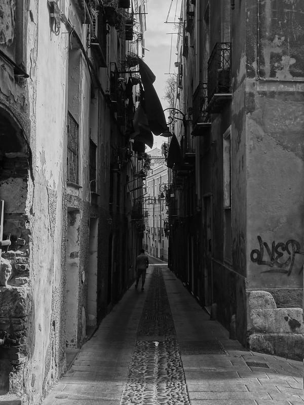 Wandering Castello, Cagliari.