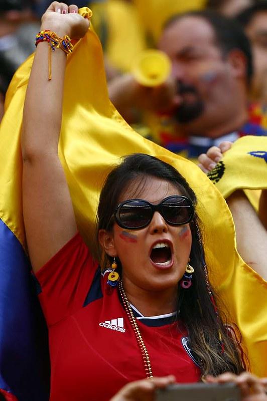 (8)BRASIL-BRASILIA-MUNDIAL 2014-COLOMBIA VS COTE D IVOIRE