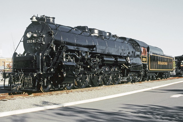 steamtown reading railroad t1 class 484 northern steam