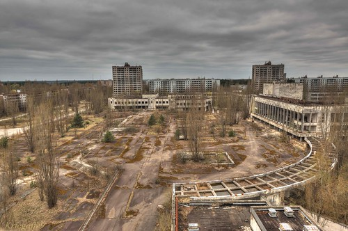 city abandoned rooftop buildings decay ukraine derelict pripyat 1424 kriegaffe9