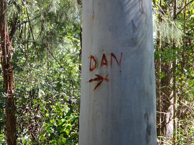 Sign for Dan