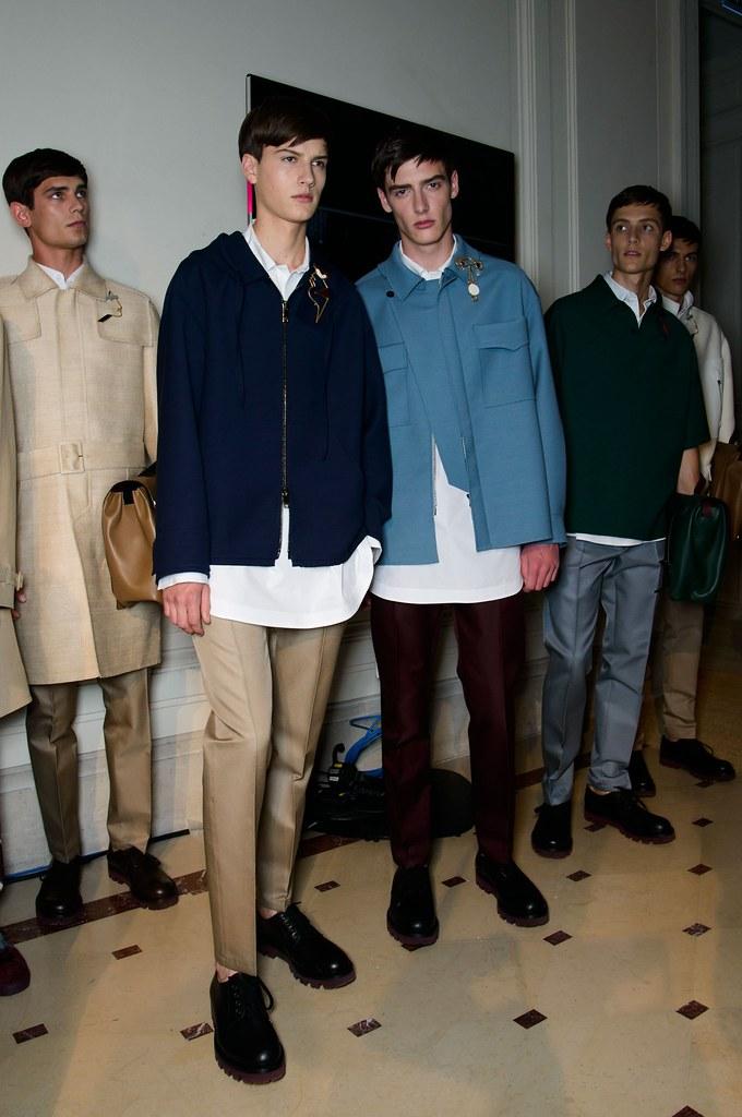 SS15 Paris Valentino455_Arthur Gosse, Ted LeSueur, Connor Paterson, Florian Luger(fashionising.com)