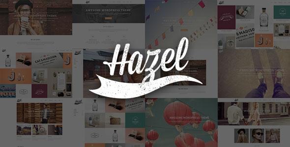 Hazel v3.10 – Multi-Concept Creative WordPress Theme