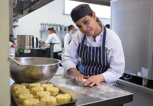 Catering Student Rashna Muktar