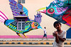 Street Art. New Delhi, India.