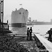 Launch of the cargo ship 'Empire Fawley' by Tyne & Wear Archives & Museums