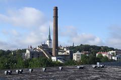 Tallinna elektrijaam ja Vanalinn, 16.08.2013.