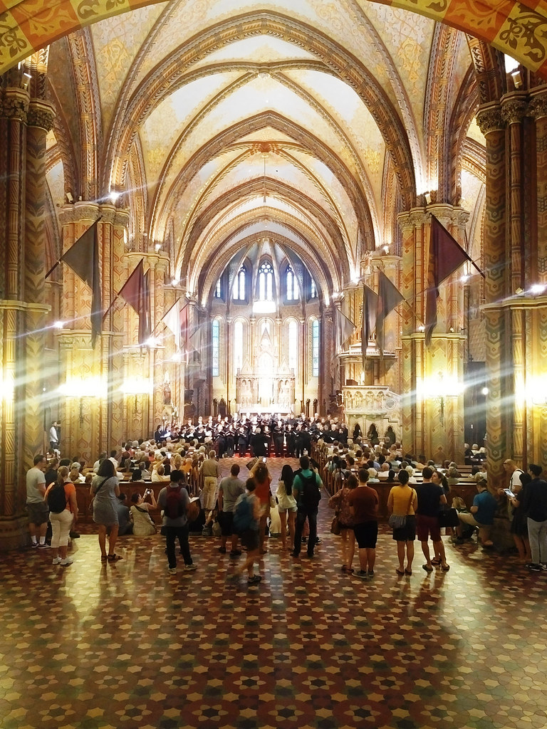 Pacific Chorale performs in the Matthias Church in Budapest