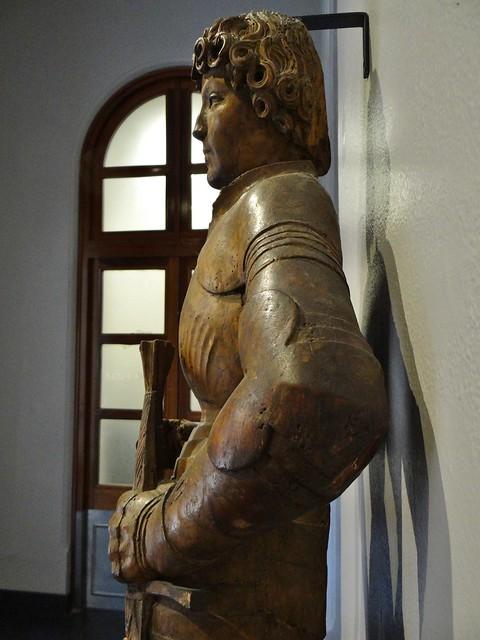 ca. 1510 - 'St. Maurice' (workshop of Tilman Riemenschneider), Würzburg, V&A, London, England