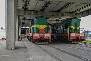 Unloading MS Vilnius