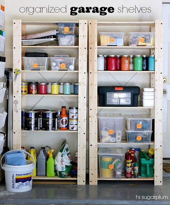 Hi Sugarplum | Organized  Garage