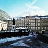 A square in the Old City of Salzburg. #salzburg #austria #winter #january